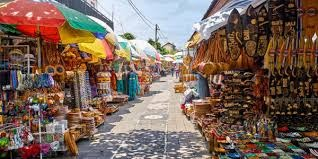 Kuta art market in Bali