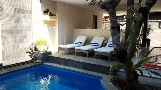 pool at Nyaman Guest House