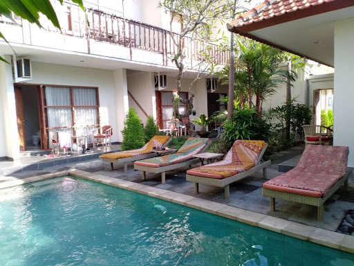 Pool at Abyan Guest House