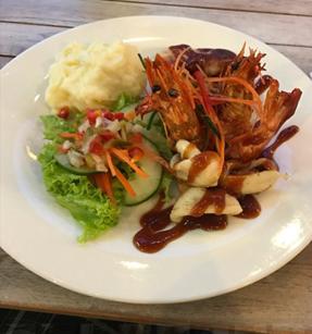 dishes at Koko Bar and Restaurant
