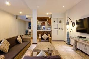 Living space in Villa Tiah, Kuta