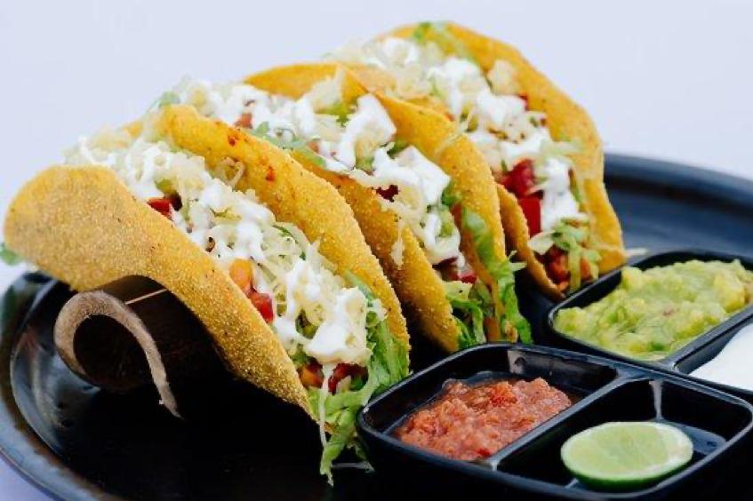 Taco renyah di Taco Fiesta