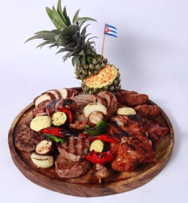 Mixed grill platter di Havana Club Restaurant