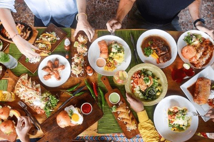 Makanan Meksiko di Aribar