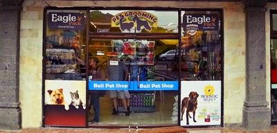 pet grooming in bali pet shop