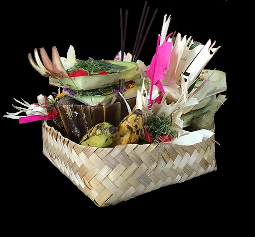 another type of balinese offering called banten pejati
