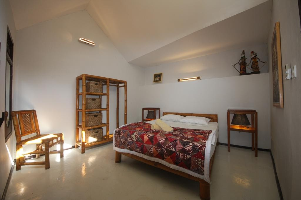 Bamboo Paradise Guesthouse double deluxe room
