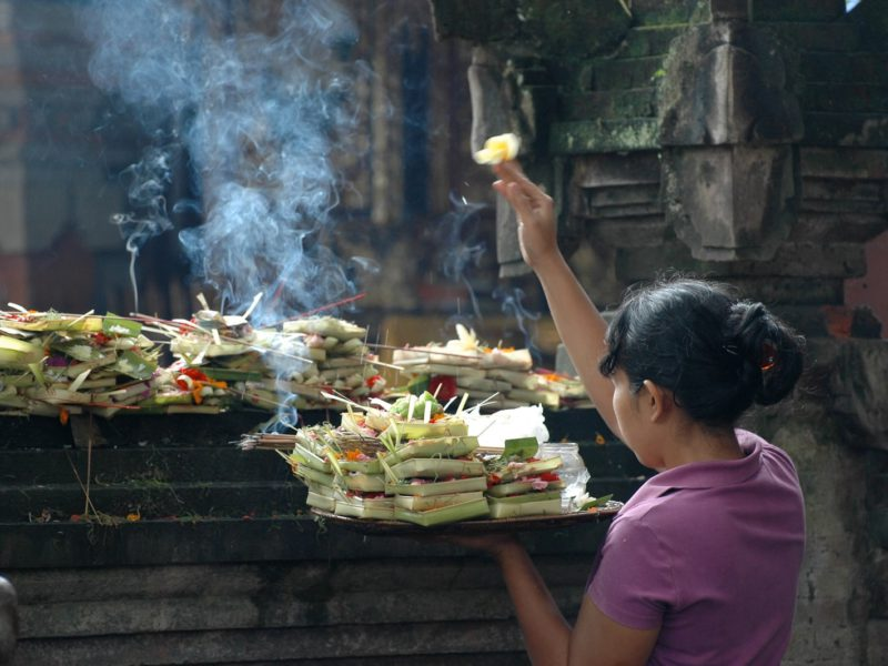 All You Need To Know About Canang Sari: Balinese Daily Offering