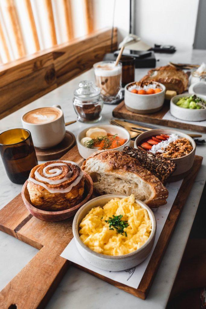 Copenhagen Canggu Breakfast Spread