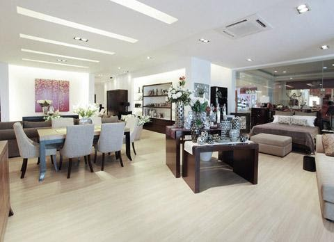 vinoti living furniture store in Bali
