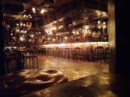 Main bar in La Favela