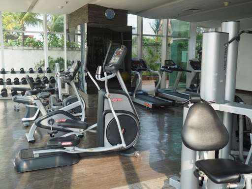 monthly rental Jakarta at Denpasar Residence with fully equipped gym