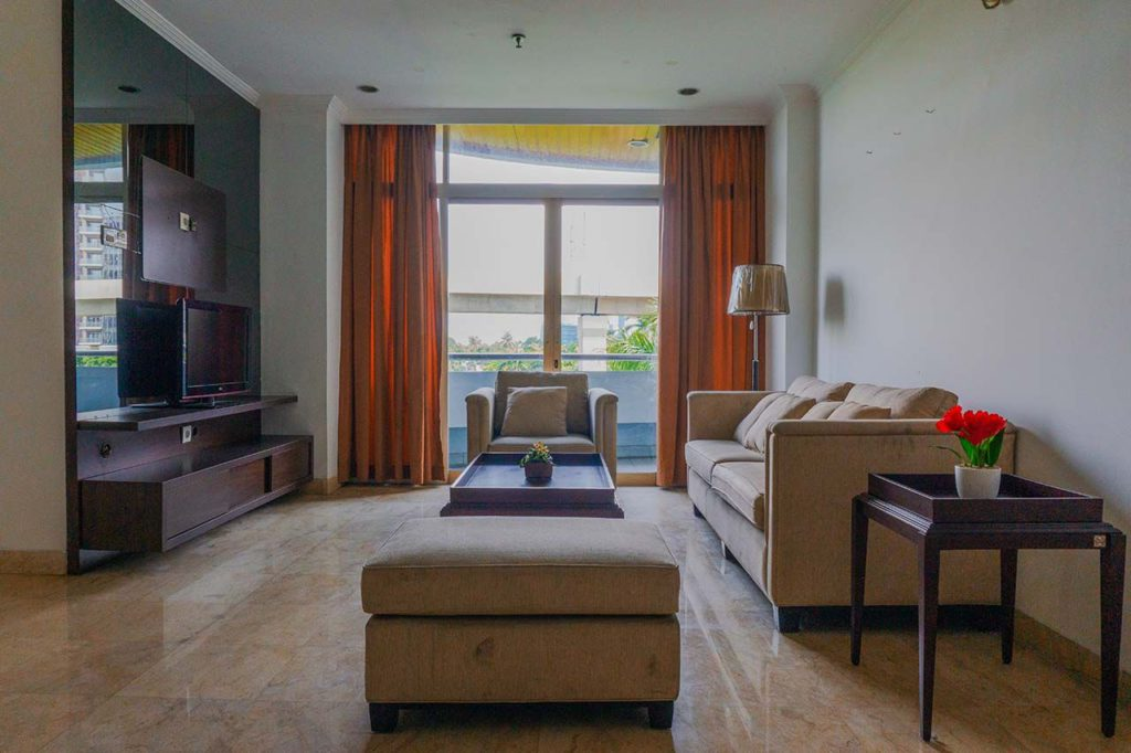 rent apartment south jakarta at parama apartment