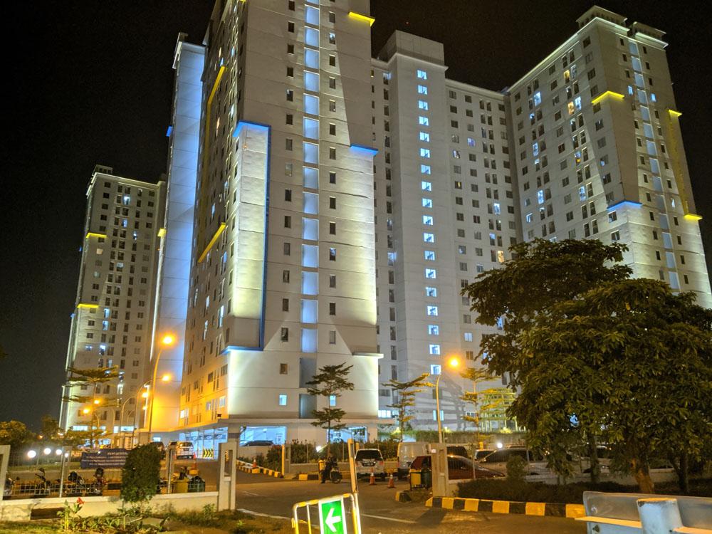 lokasi strategis apartemen bassura city