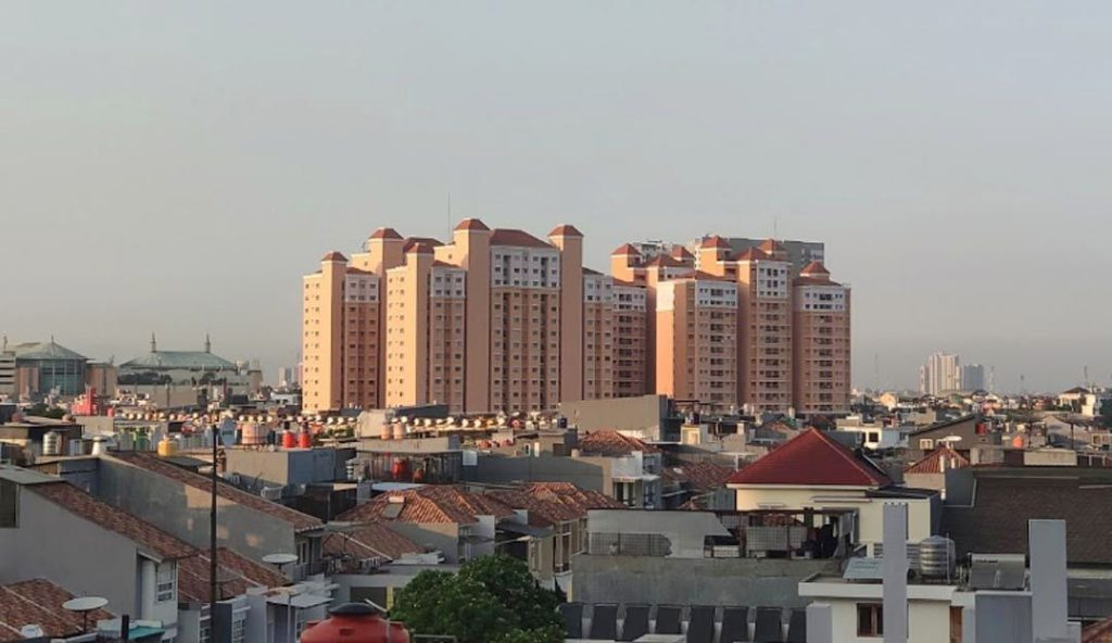 sewa Apartemen City Park lokasi strategis