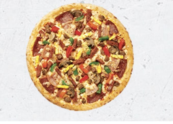 menu pizza hut delivery super supreme