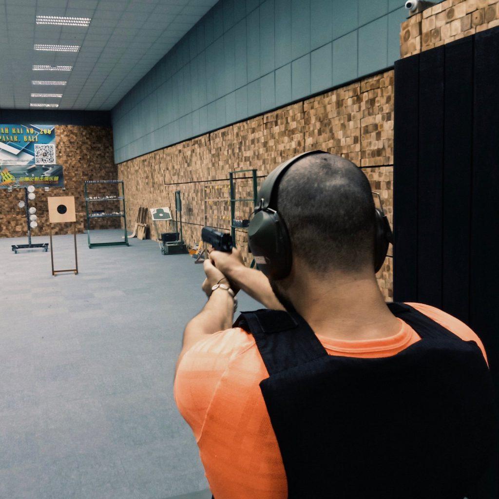 tempat latihan menembak bali fire