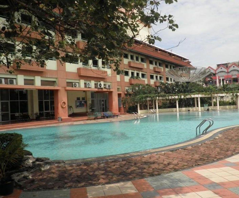 swimming pool at mitra bahari