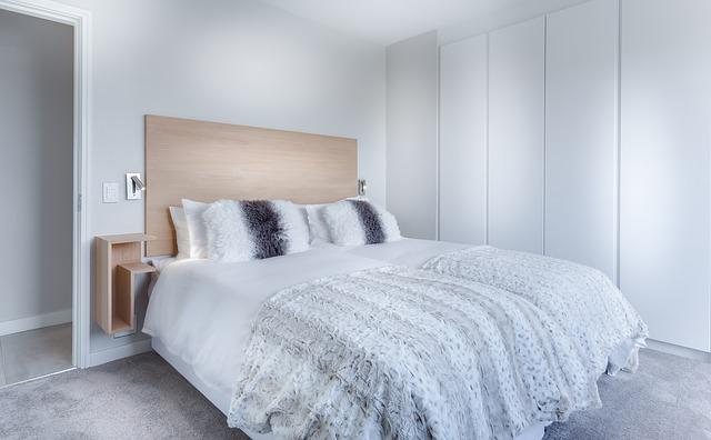 minimalist bedroom simple bedframe