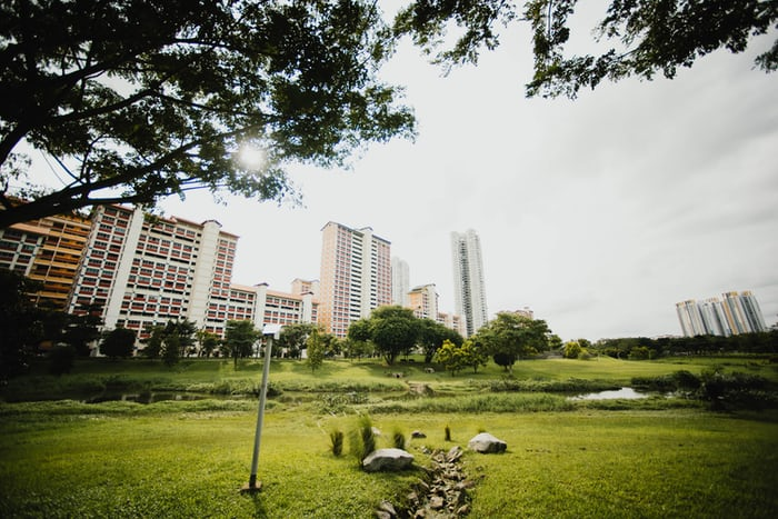 10 List of Apartments with Open Garden Facilities