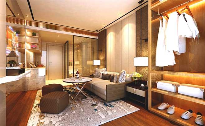 apartemen konsep jepang the serpong garden