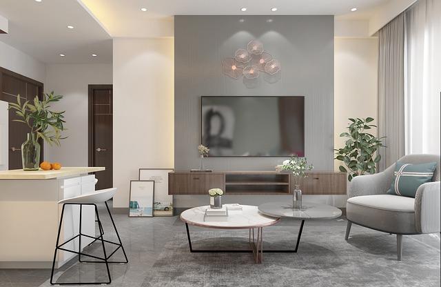 apartemen ideal di era normal baru ruang santai